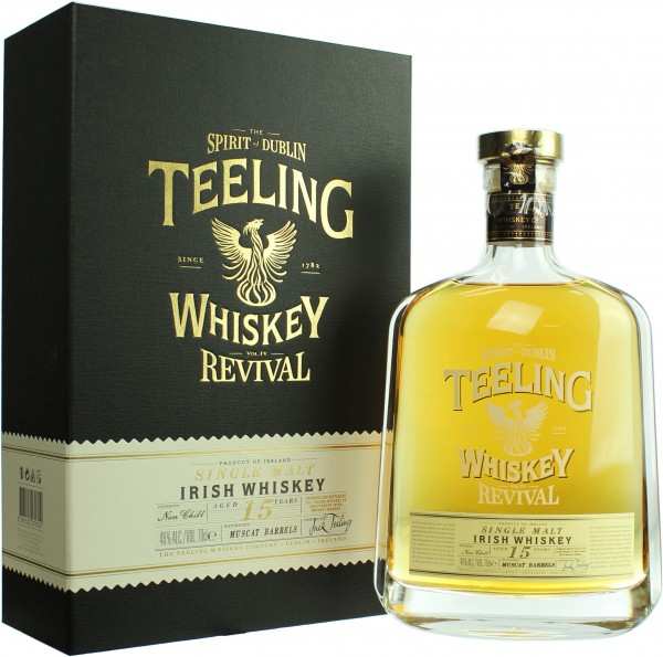 Teeling Revival IV 15 Jahre Muscat Barrels Finish