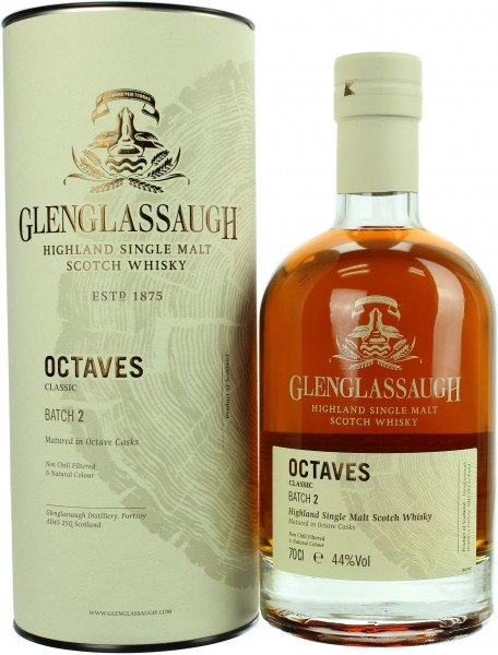 Glenglassaugh Octaves Batch 2 44.0% 0,7l