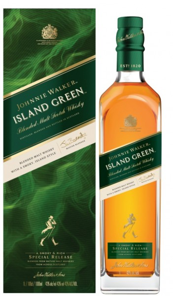Johnnie Walker Island Green 1 Liter