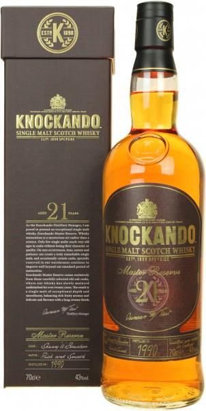 Knockando Master Reserve 21J-1990