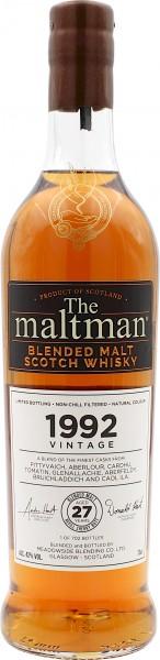 The Maltman 27 Jahre Vintage 1992 Blended Malt Whisky