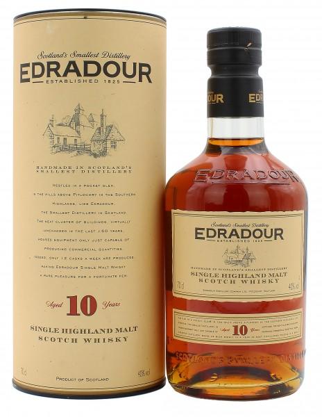 Edradour 10 Jahre altes Design 2000 40.0% 0,7l