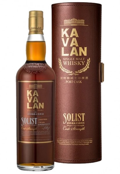 Kavalan Solist Port Cask (Taiwan) 57.8% 0,7l