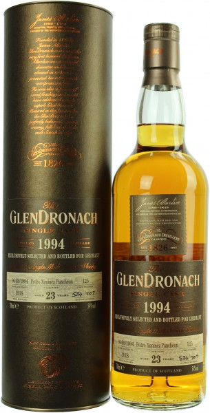 Glendronach 23 Jahre Exclusive Cask #125