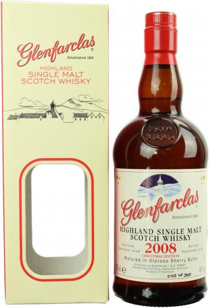 Glenfarclas Christmas Malt Vintage 2008/2018 46.0% 0,7l