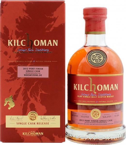 Kilchoman Single Port Cask Finish 2012/2020 Whiskyzone.de Exklusiv