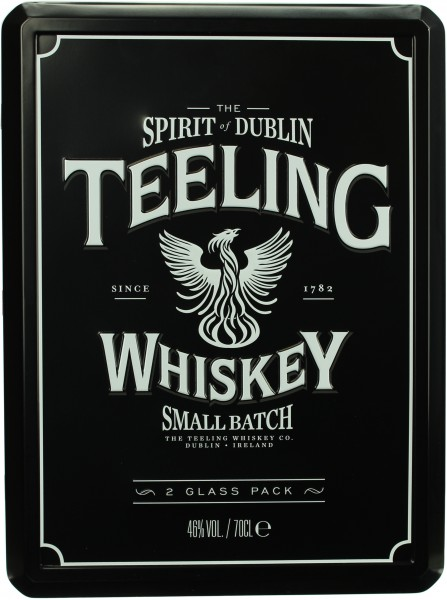 Teeling Rum Cask Small Batch Geschenkset mit 2 Tumbler Gläser