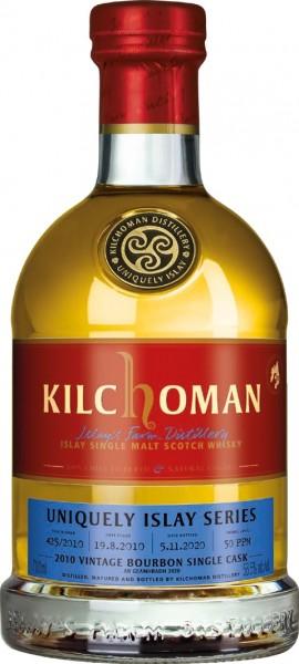 Kilchoman 2010/2020 An Geamhradh #7/7 Cask Fresh Bourbon Barrel