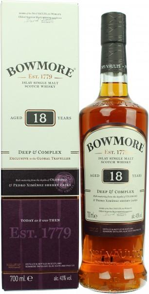 Bowmore 18 Jahre Deep & Complex 43.0% 0,7l