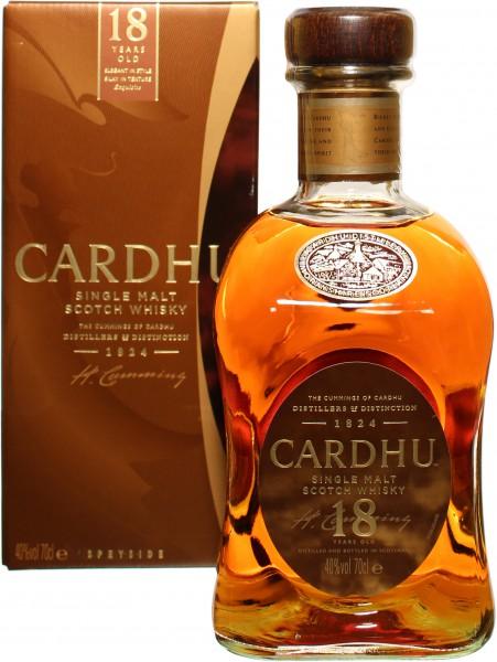 Cardhu 18 Jahre 40.0% 0,7l