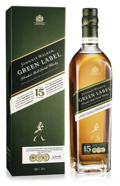 Johnnie Walker Green Label 15 Jahre 43.0% 0,7l
