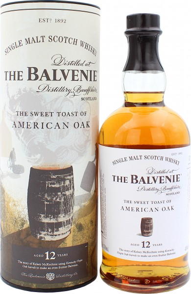 Balvenie 12 Jahre Sweet Toast of American Oak