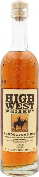 High West Rendezvous Straight Rye