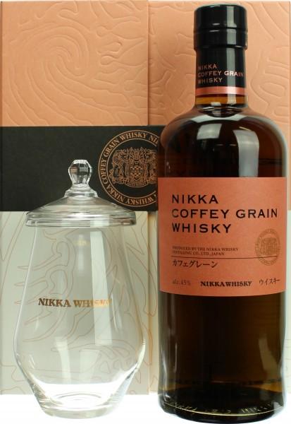 Nikka Coffey Grain Geschenkset mit Glas (Japan)