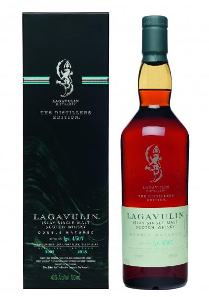 Lagavulin Distillers Edition 2002/2018 43.0% 0,7l