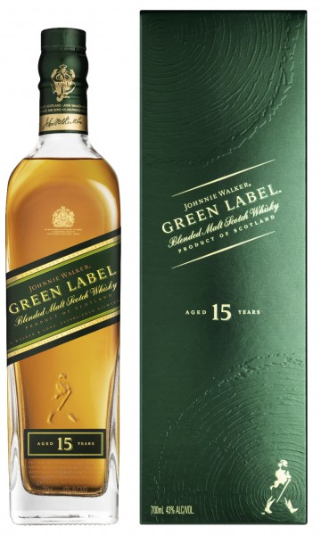 Johnnie Walker Green Label 15 Jahre 40.0% 0,7l