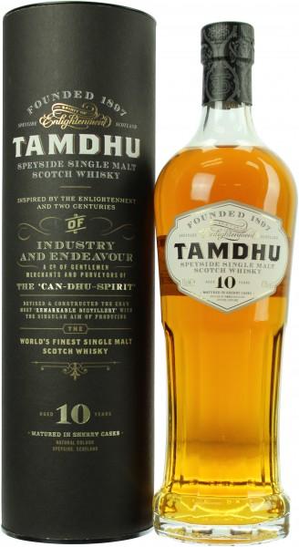 Tamdhu Sherry Cask 10 Jahre 43.0%