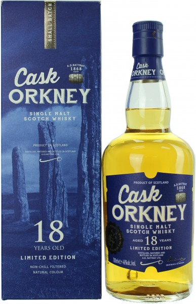 Cask Orkney 18 Jahre A.D. Rattray 46.0% 0,7l