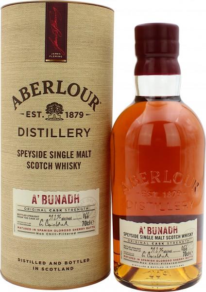 Aberlour a'bunadh 59.2% 0,7l