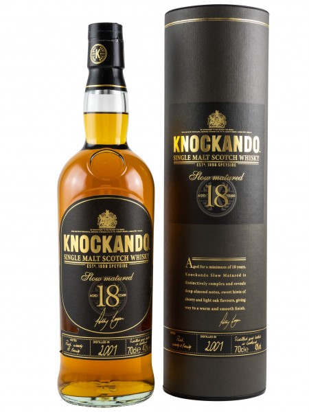 Knockando Slow Matured 18 Jahre 2001