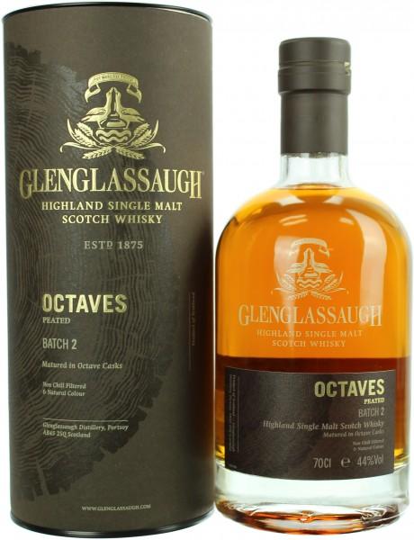 Glenglassaugh Octaves Peated Batch 2 44.0% 0,7l
