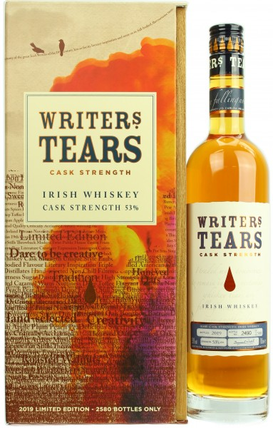 Writer's Tears Cask Strength 2019