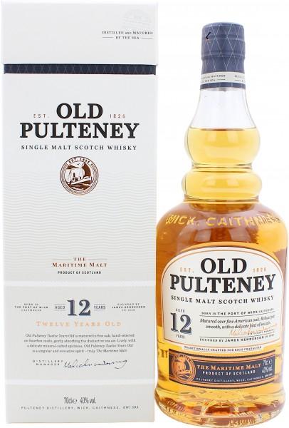 Old Pulteney 12 Jahre 40.0% 0,7l