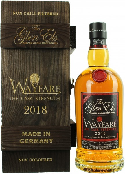The Glen Els Wayfare Cask Strength 2018 61.0% 0,7l