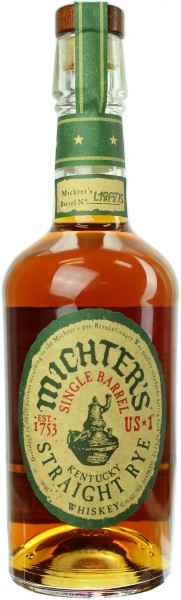 Michter's Single Barrel Straight Rye 42.4% 0,7l