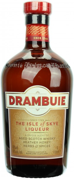 Drambuie Whisky Likör 40.0% 1 Liter