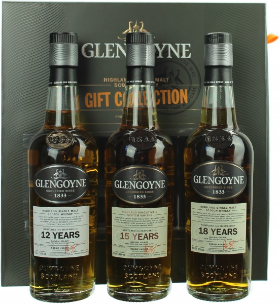 Glengoyne Triple Pack Gift Collection 43.0% 3x200ml