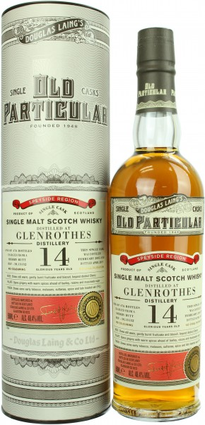 Glenrothes 14 Jahre 2005/2019 Old Particular 48.4% 0,5l