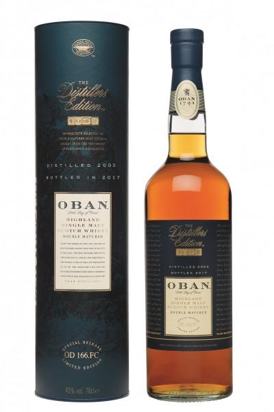 Oban Distillers Edition 2003/2017 43.0% 0,7l